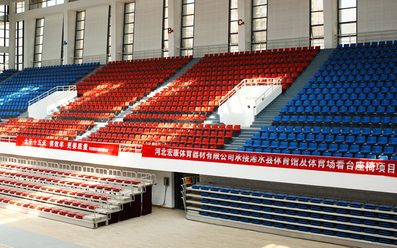 公司是河北体育设施厂家,主营产品有体育场座椅、体育设备、看台、篮联篮球架、国际篮联篮球架、二代路径、场馆座椅、伸缩座椅、智能路径、看台座椅、篮架、笼式足球、笼足、活动看台、健身路径、体育设施、健身器材、篮球架、围网、国际篮联认证篮球架、室内外篮球架、场馆活动看台、国际篮联篮球架标准、体育场座椅看台、体育器材等。